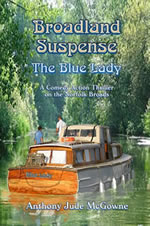 Broadland Suspense: The Blue Lady Cover